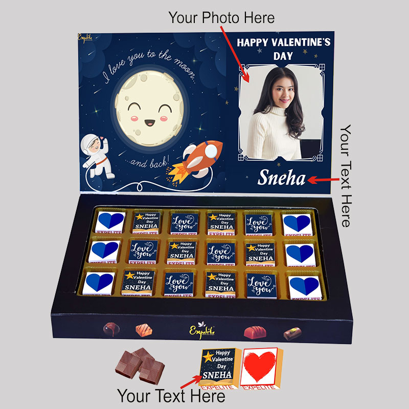 Vday Personalised Choco Box