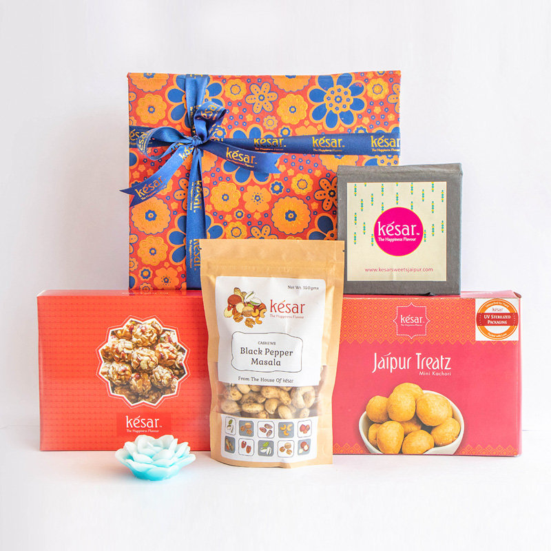 Vegetarian Sweets and Snacks Combo