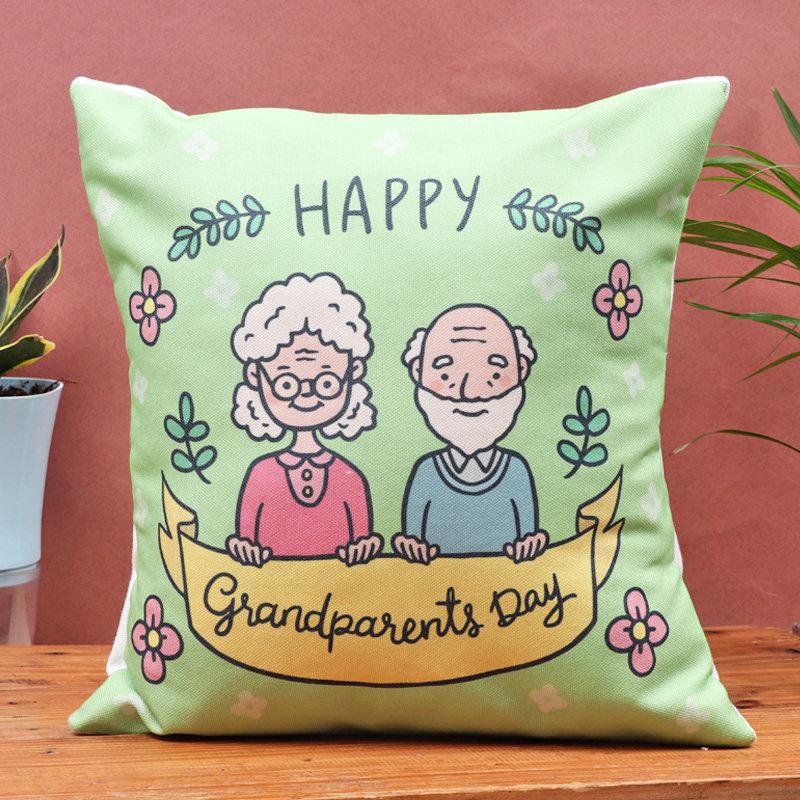 Vibrant Grandparent Cushion