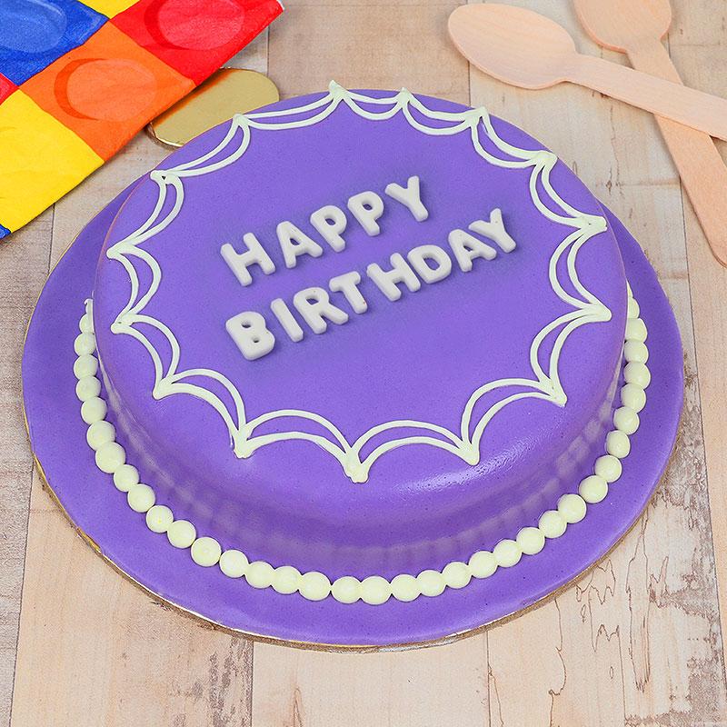 designer birthday cake