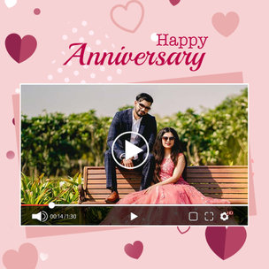 Personalised Anniversary Video