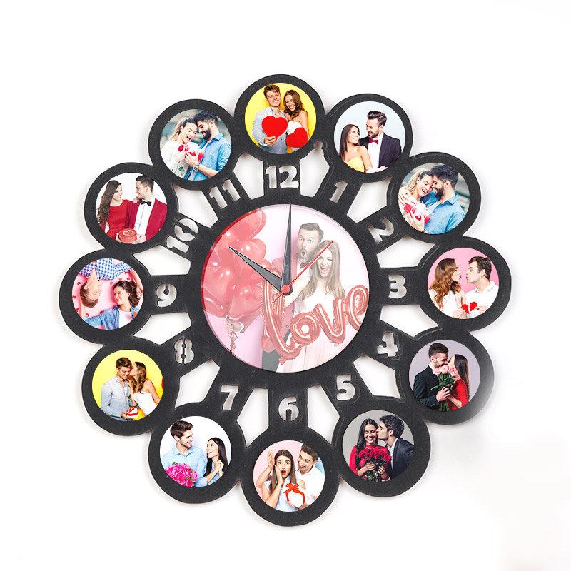 Wall Photo Clock