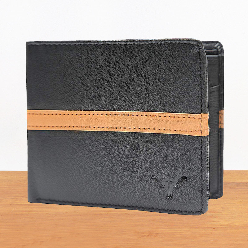 Black High Quality Leather Wallet - 11.5X9.5