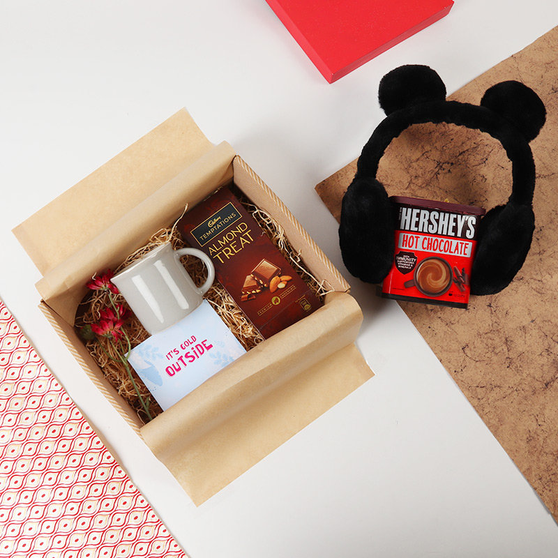 Warm chocolaty surprise