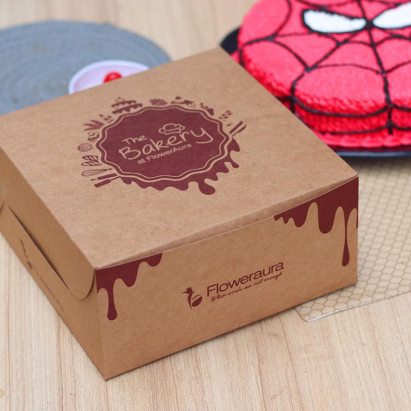 Spiderman Cartoon Cake in a Box