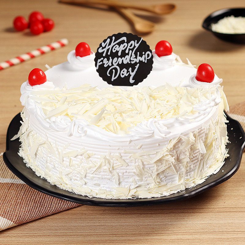 White Forest Cake For Bestie