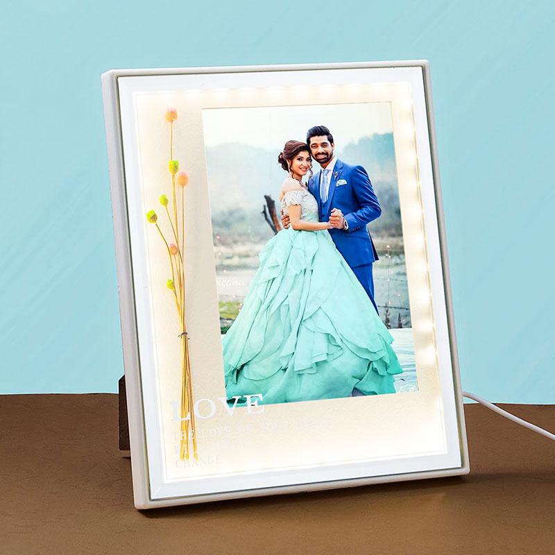 White LED Photo Frame
