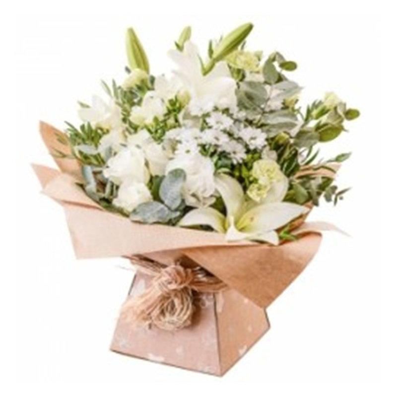 White N Cream Florals