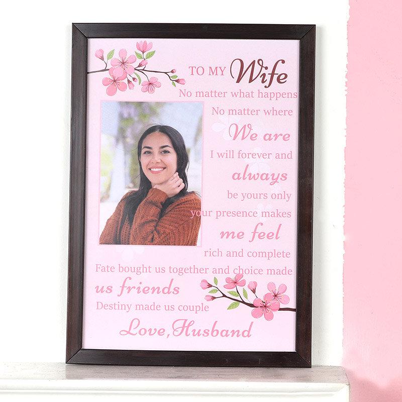 Wifey Custom Frame