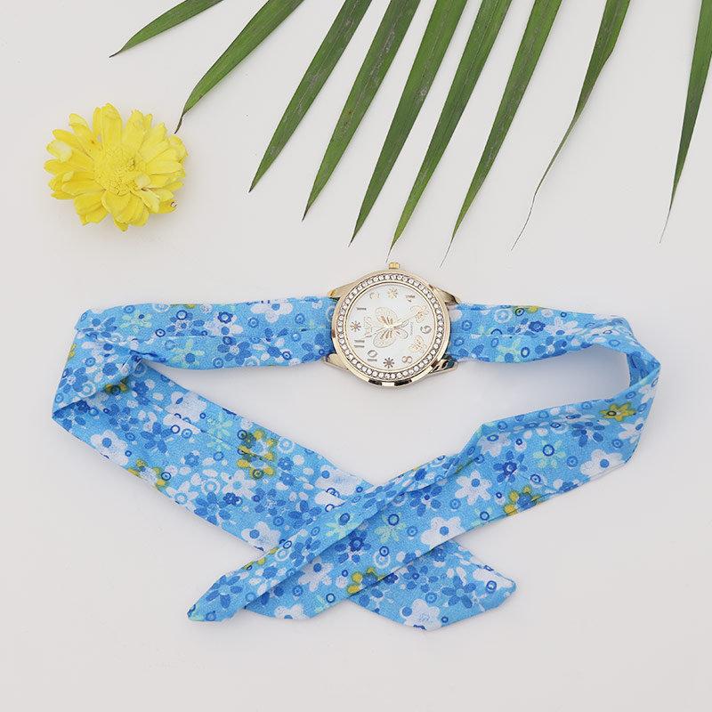 Women Floral Wristwatch