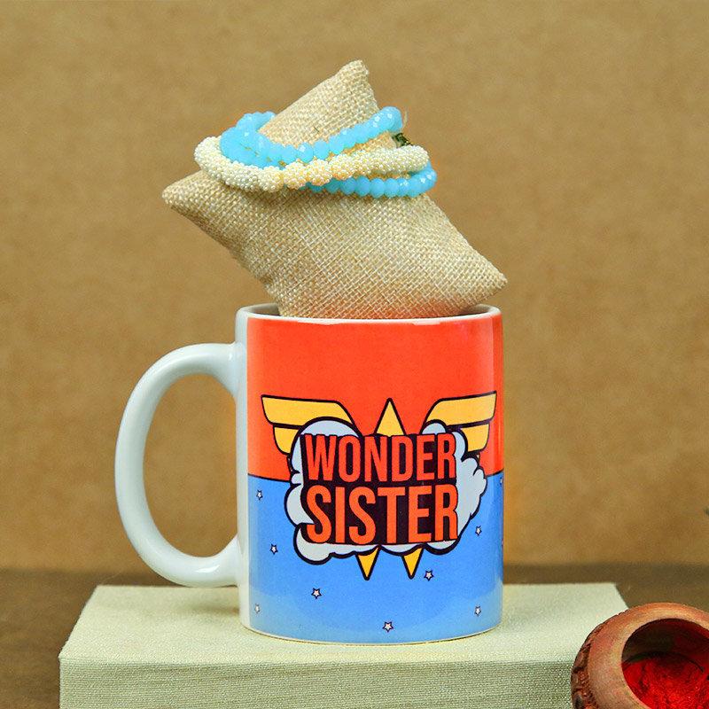 Wonder sister duo Gifts on Rakhi