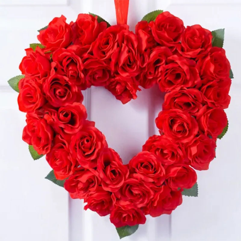 Wreath Of Red Rose