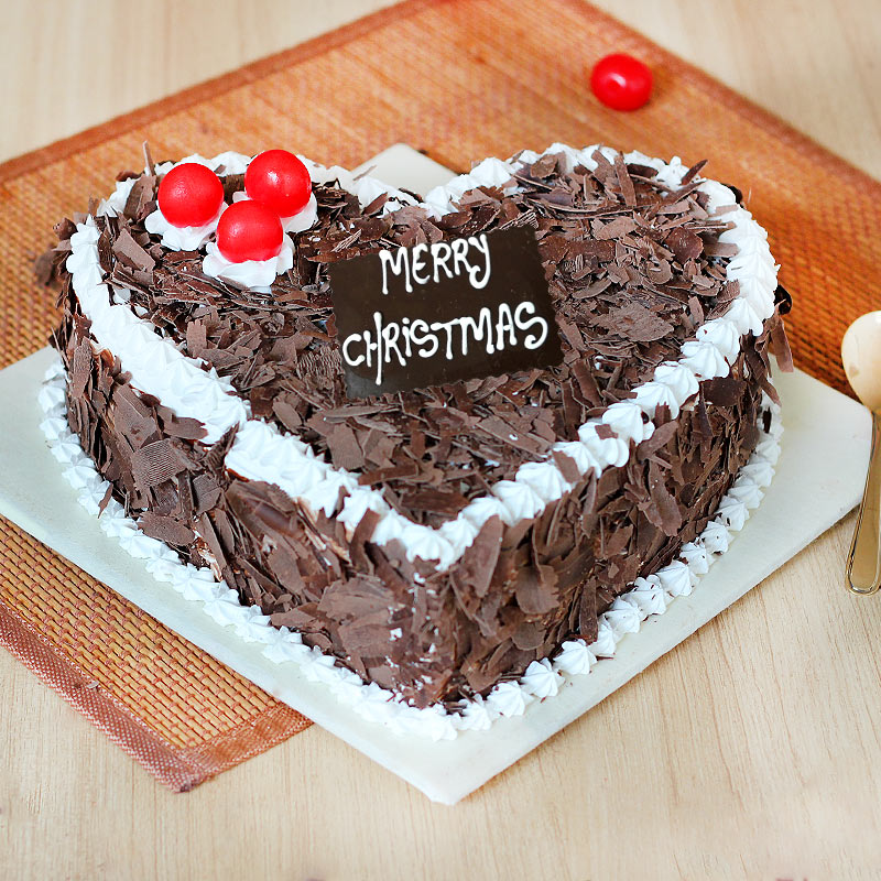 Black Forest Christmas Cake