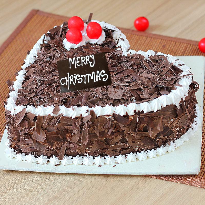 Cherry Christmas Cake