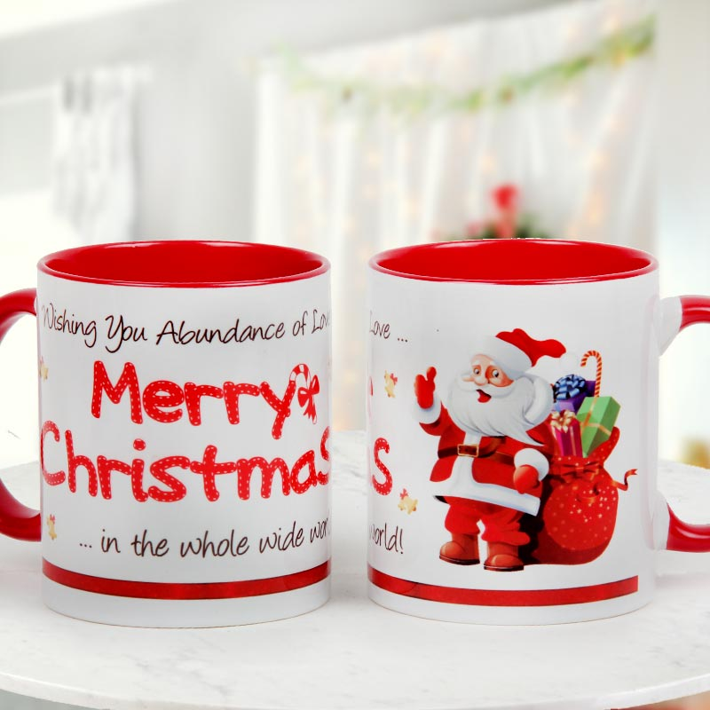 Red white toned Coffee Mug - A thoughtful expression of love and admiration