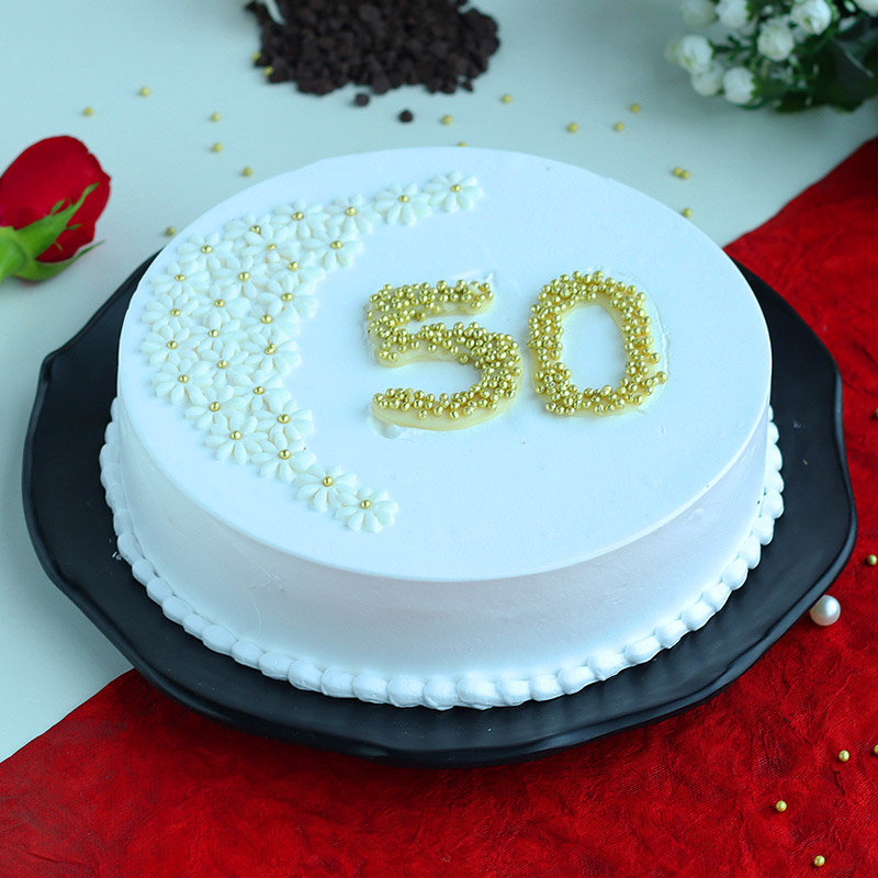 Cake for 50th Anniversary