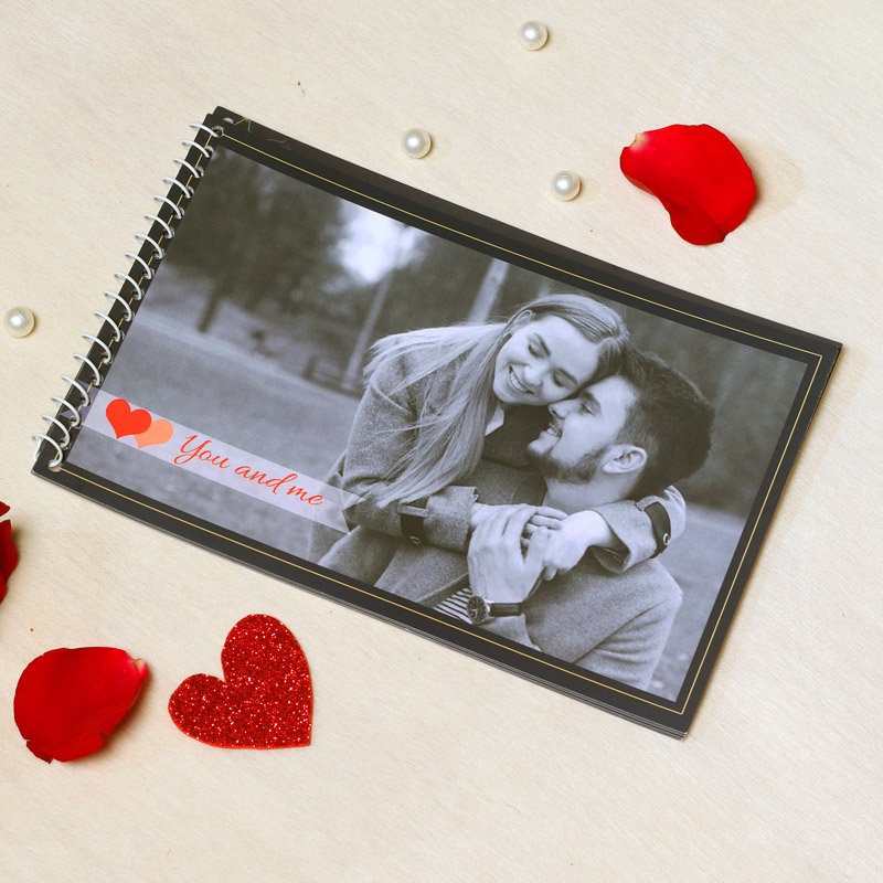 Personalised Photo Album Gift for Your Love