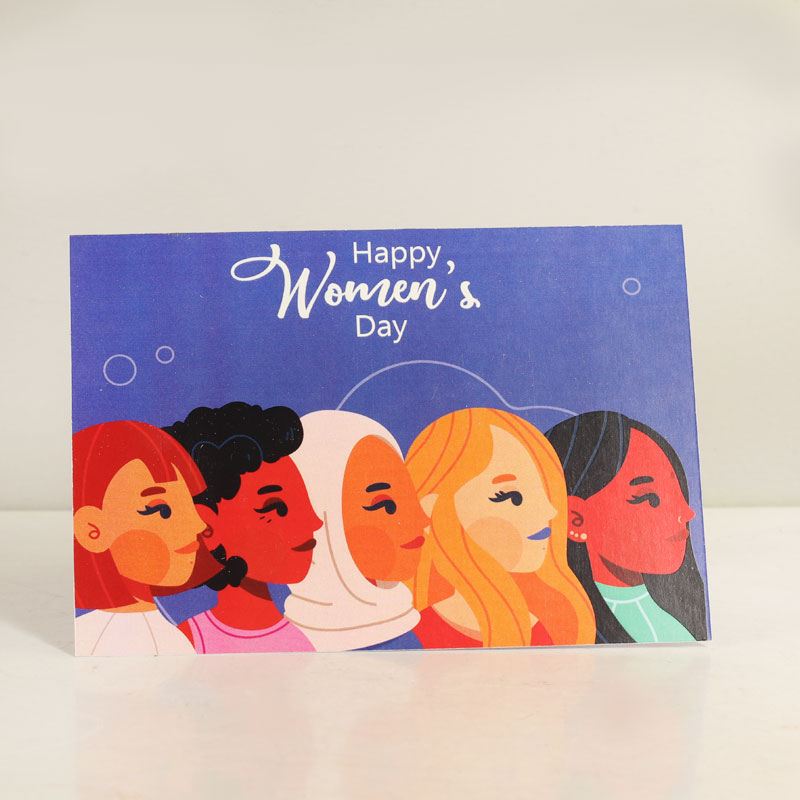 You Are Strong Greetings - Happy Women's Day Greeting Card