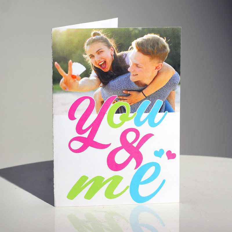 You and Me Valentine's Day Greeting Card